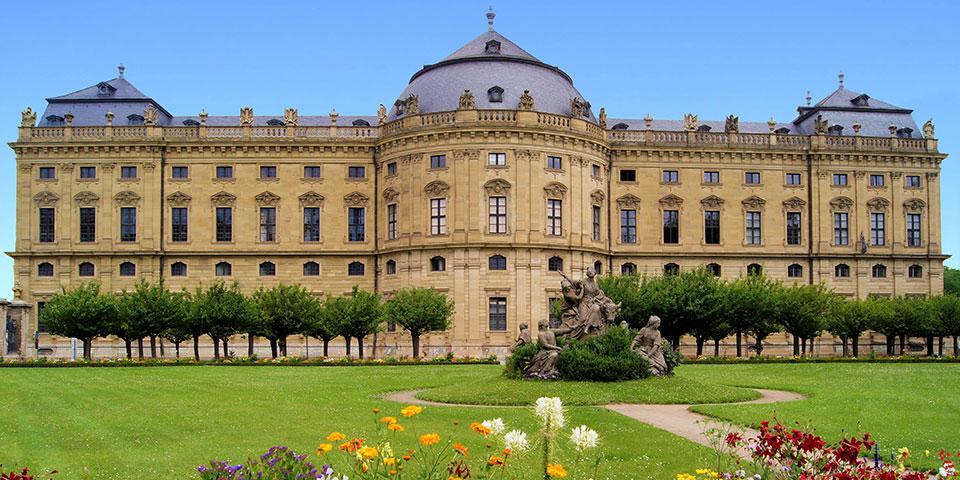 Barokslottet Würzburg Residence.