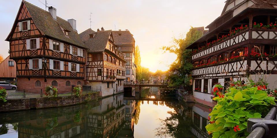 Charmerende Strasbourg.