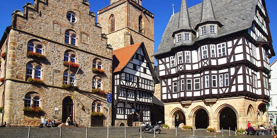 Alsfeld - Krydstogt fra Amsterdam til Strasbourg
