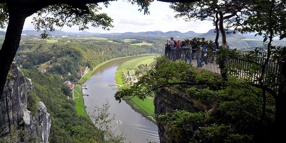 Basteiklippen - Dresden