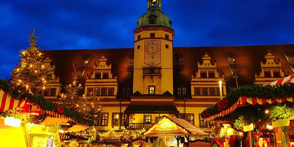 Julemarkedet i Leipzig er altid et besøg værd.