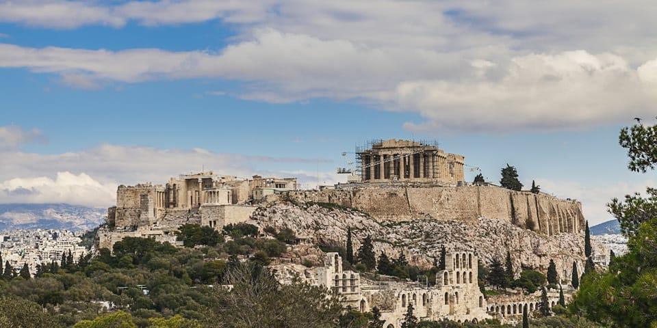 Akropolis - Graekenland Kulturrejse