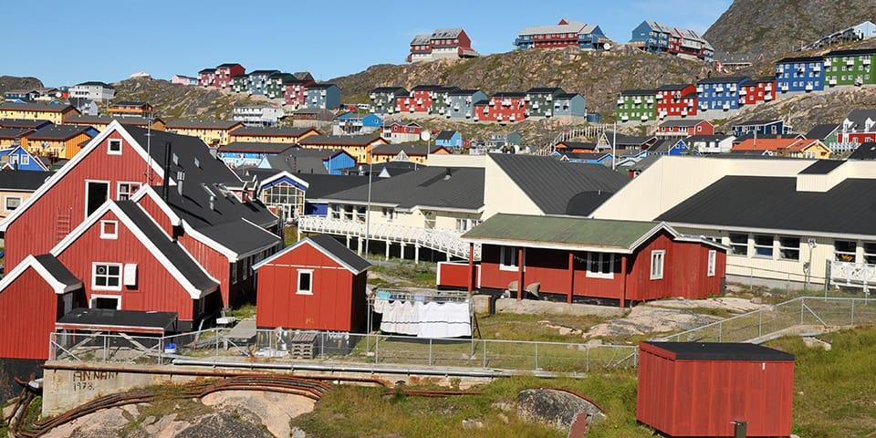 Qaqortoq - København, Grønland, New York
