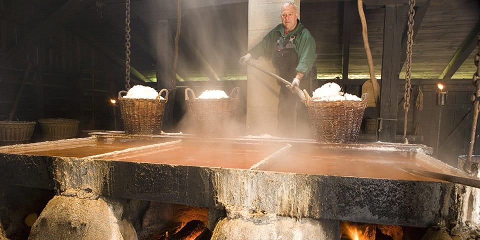 Saltsydning på Læsø.