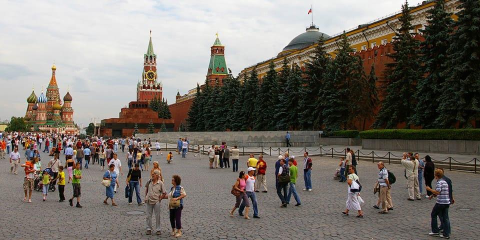 Den Røde Plads - Moskva Skt Petersborg