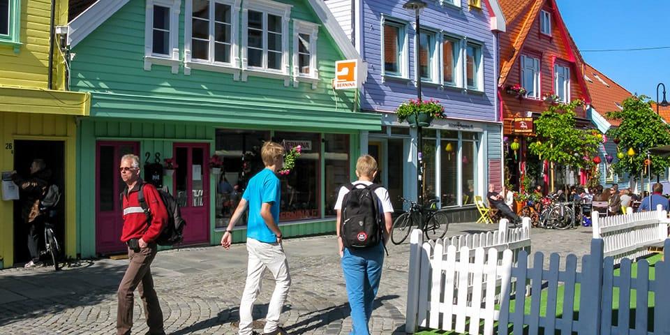 Hyggelige Stavanger indbyder til en spadseretur.