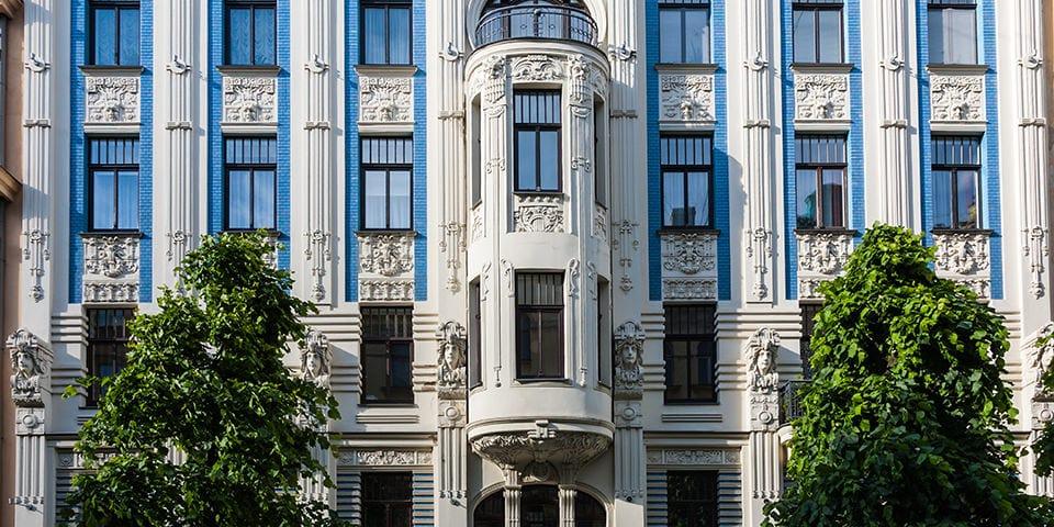 Jugendkvarteret i Riga.