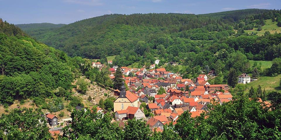 Tyske Thüringen.