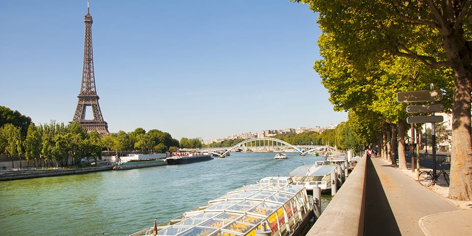 Paris - Seinen Krydstogt