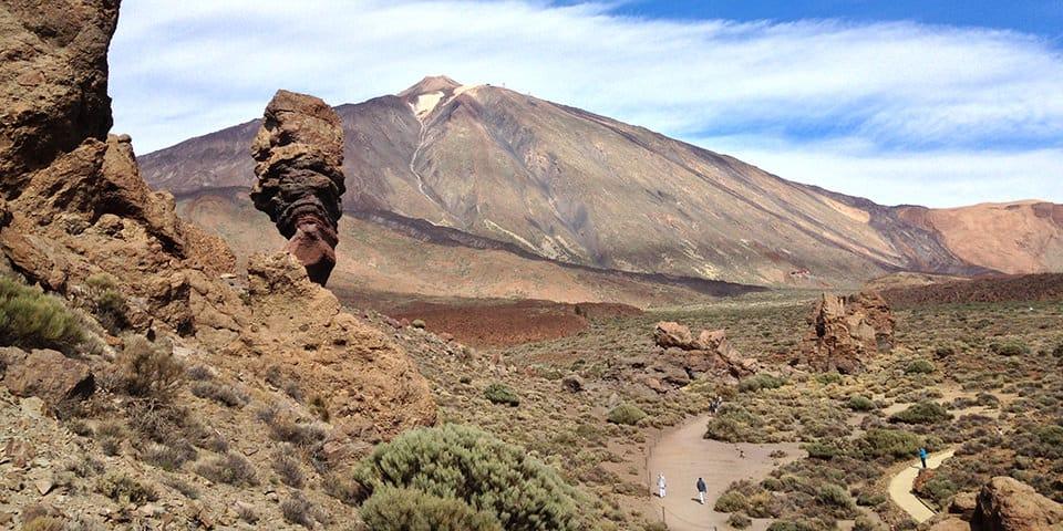 Nationalparken Parque Nacional de las Canadas del Teide.