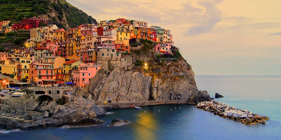 Cinque Terre - Toscana Rundrejse