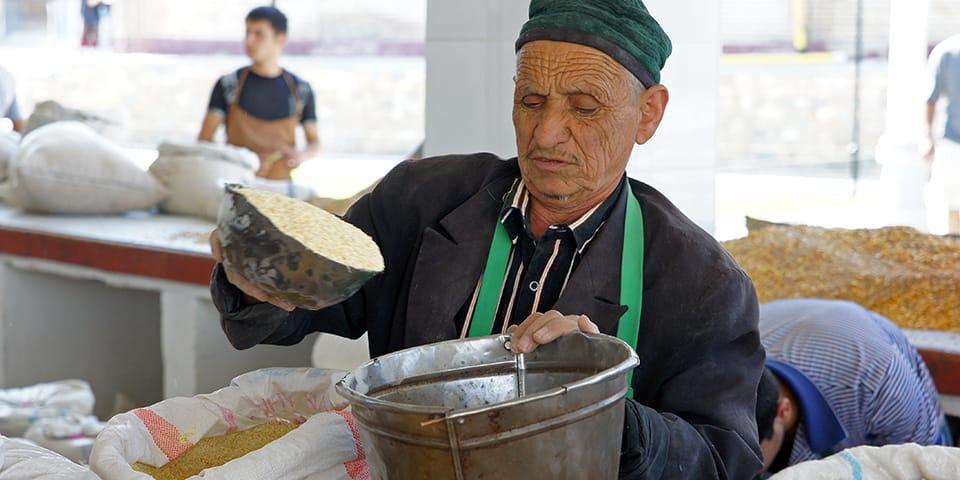 Marked i Samarkand - Usbekistan