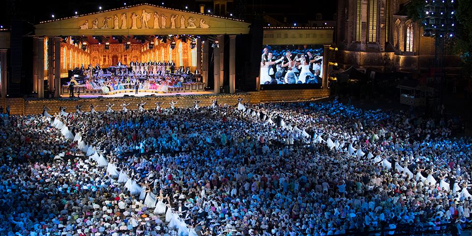 André Rieus fantastiske koncert i Maastrich.