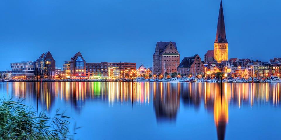 I Rostock besøger vi byens imponerende julemarked.