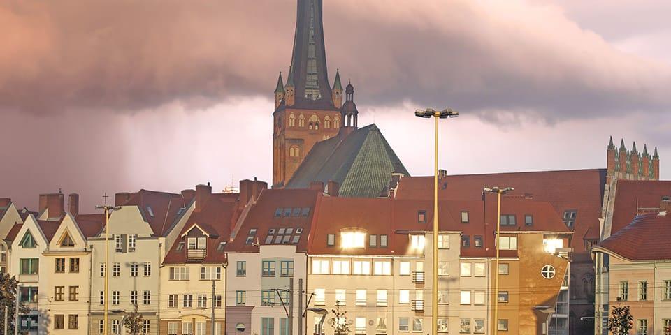 Stettin byder på mange seværdigheder.