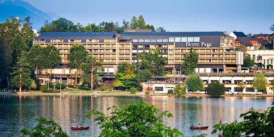 Hotel Park i Bled.