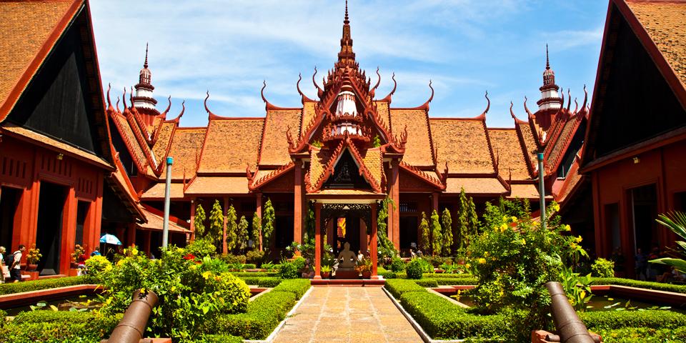 Nationalmuseet i Phnom Penh.