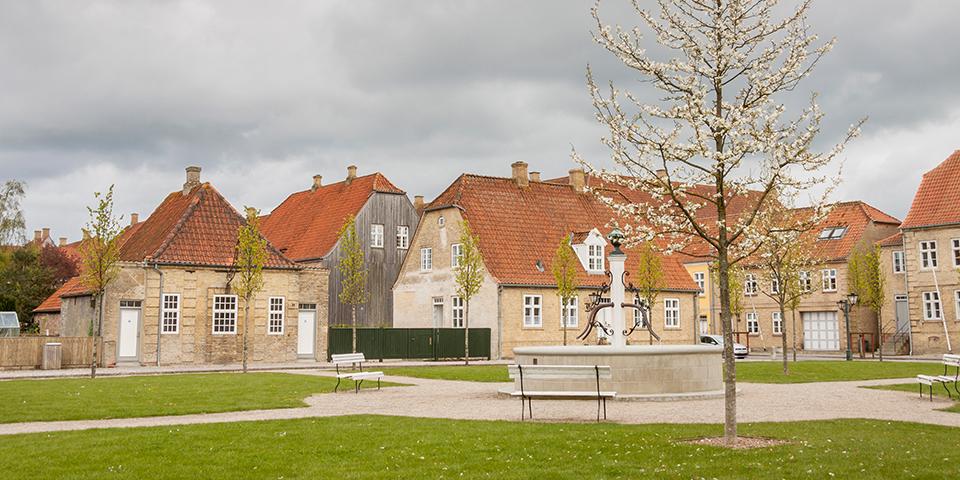 Oplev Christiansfeld, som er på UNESCO's Verdensarvsliste.