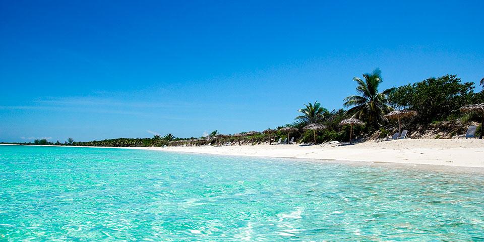 Velkommen til de paradisiske strande på Cayo Santa Maria.