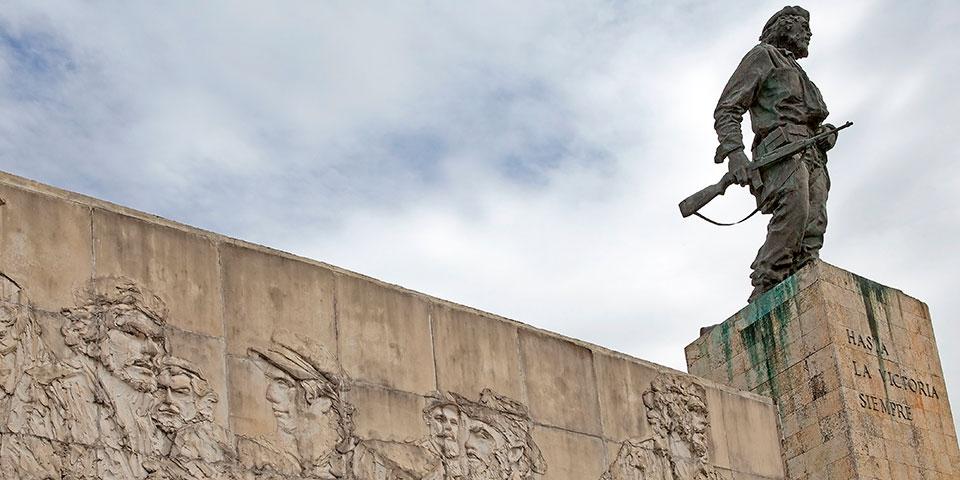 Che Guevaras mausoleum i Santa Clara.