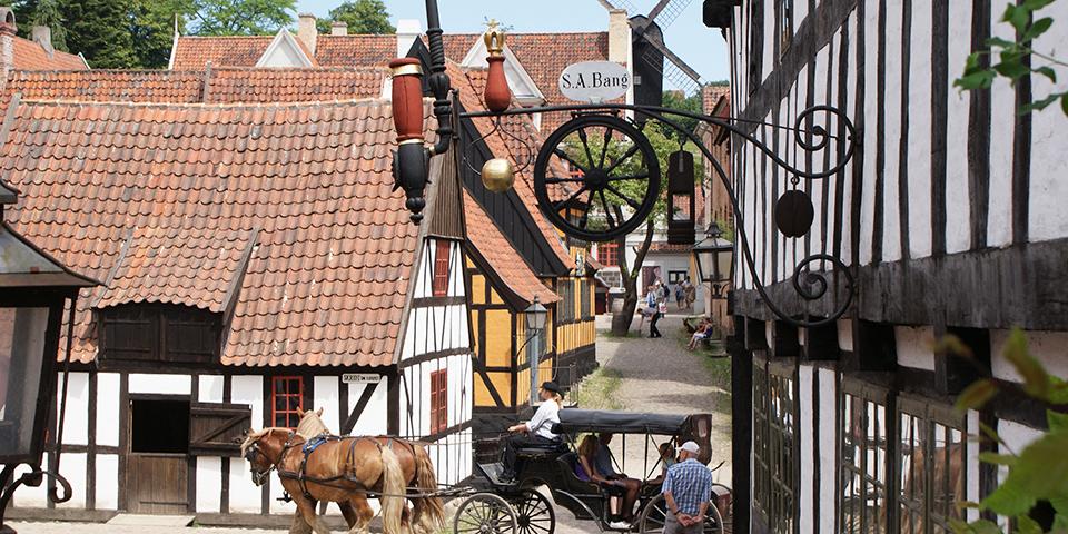 Den Gamle By i Aarhus byder på en spændende tidsrejse.