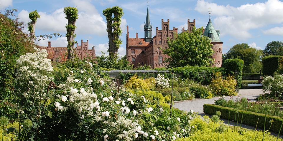 Egeskov Slots vidunderlige have.