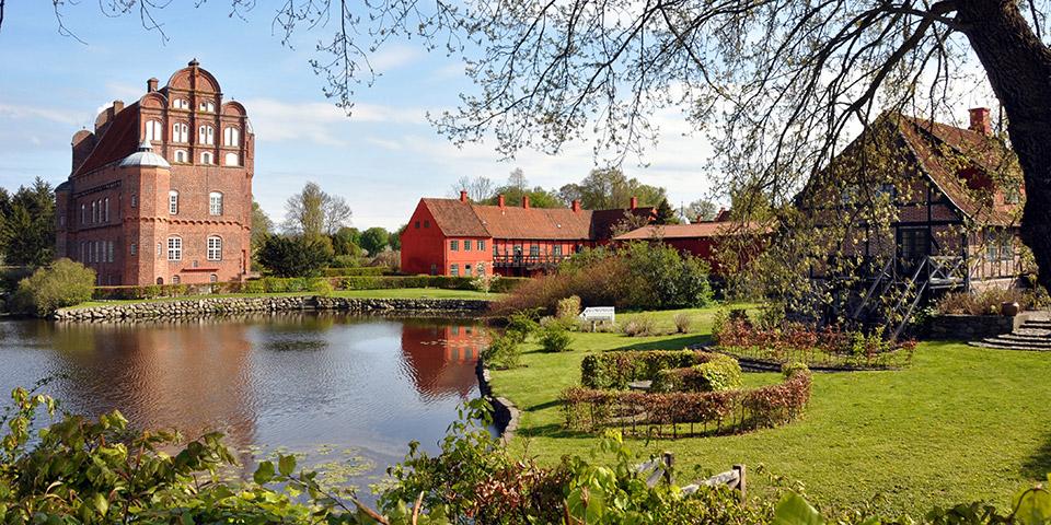 Eventyrlige Hesselagergård, der er Danmarks ældste renæssancebygning.