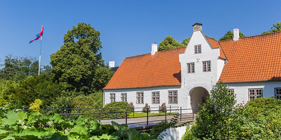 Schackenborg Slot i Møgeltønder.