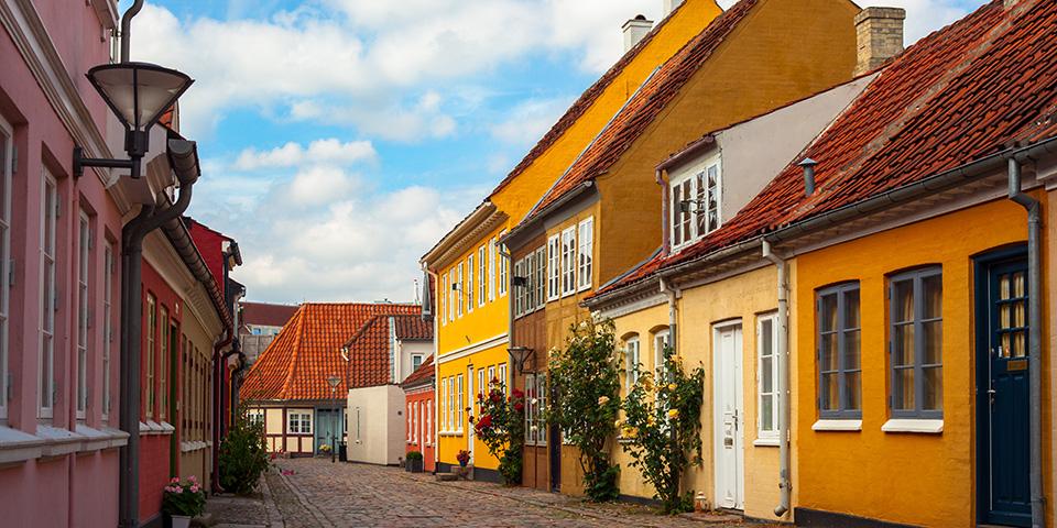 Fynsk idyl i Odense.