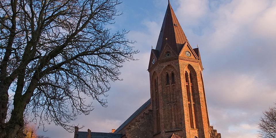 Kirketårnet i Assens.