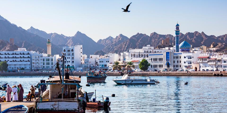 Havnen i Muscat.