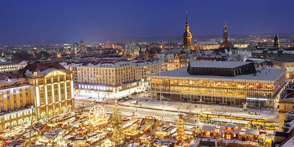 Dresden i julestemning.