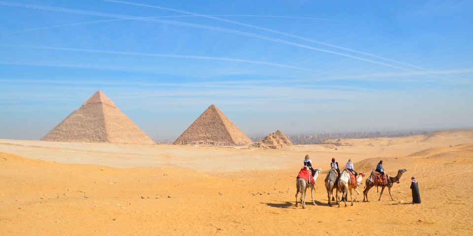 Pyramiderne i Giza.