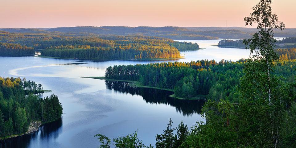 Det finske søområde.