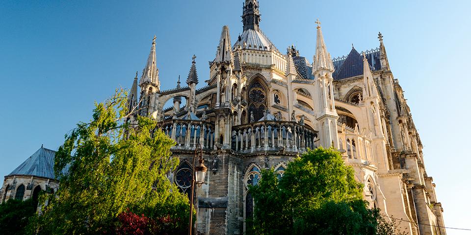Katedralen Notre-Dame i Reims.