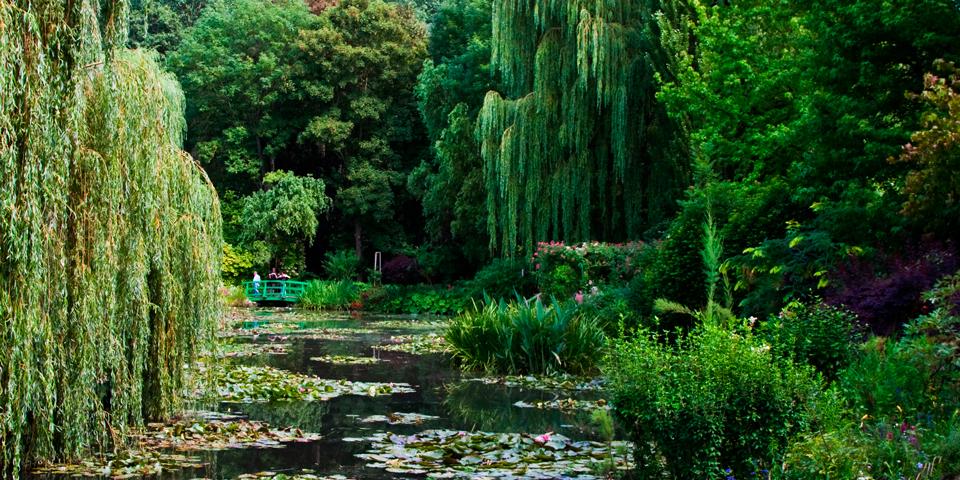 Monets smukke have i Giverny.