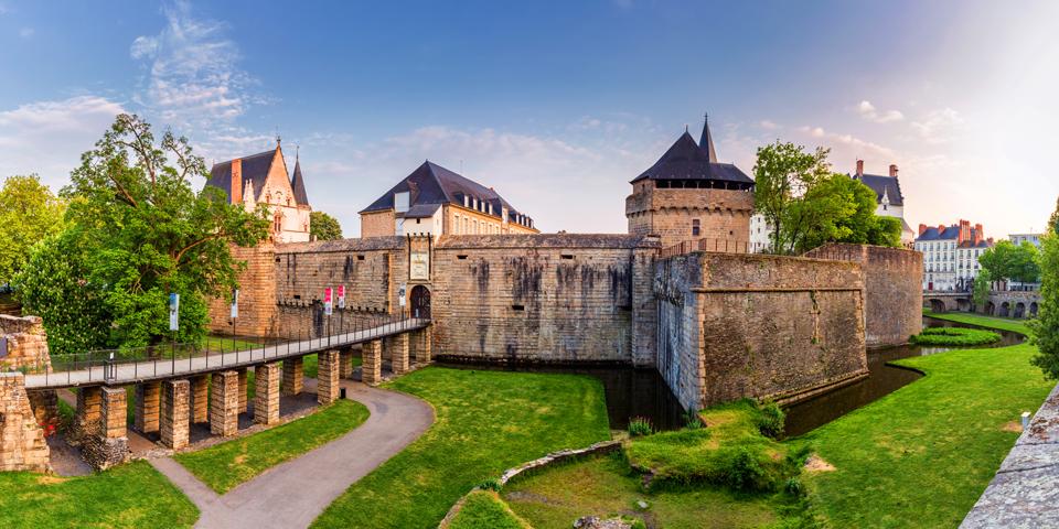 Chateau de Ducs de Bretagne.