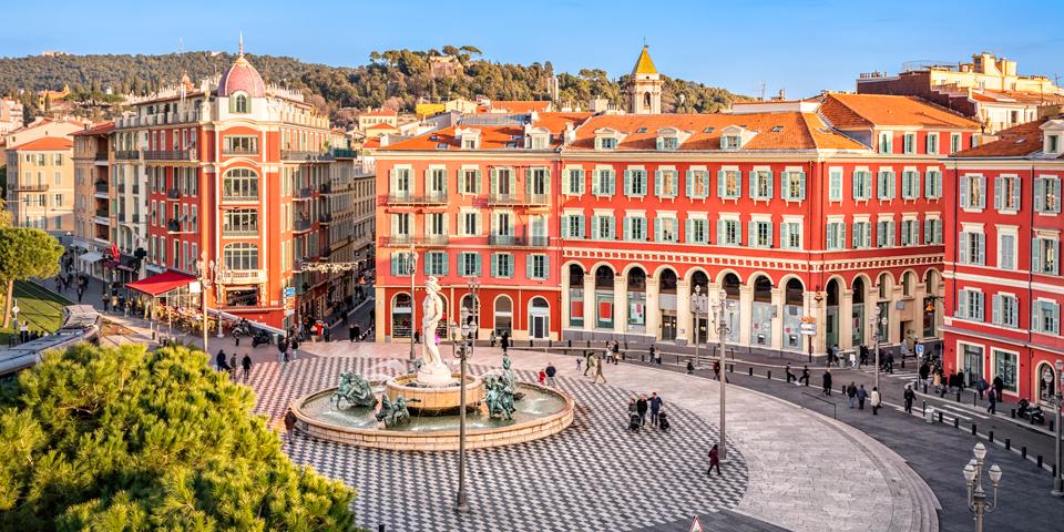 Place Masséna i Nice.