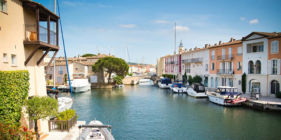 Kanalbyen Port Grimaud.