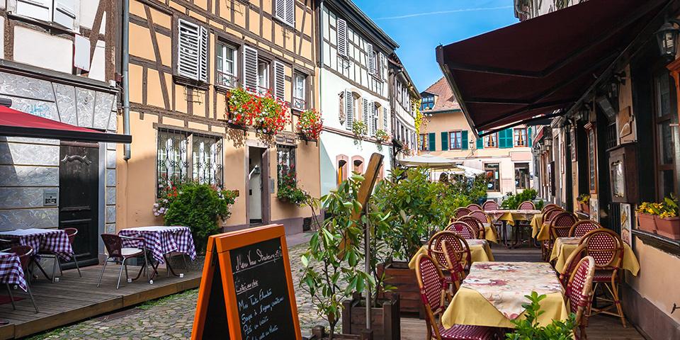 Strasbourg byder på et væld af charmerende restauranter.