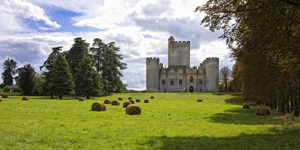 Slottet Roquetaillade.