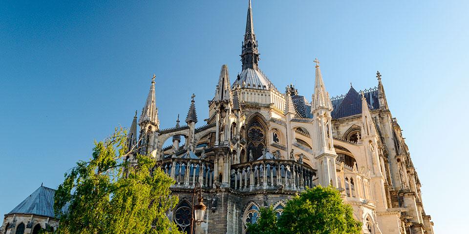 Katedralen i Reims.