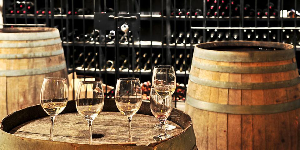 Vinsmagning i Pouilly.