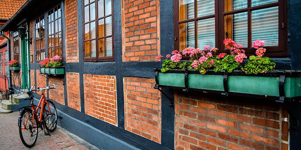 Nyd de hyggelige gader i Fredericia.