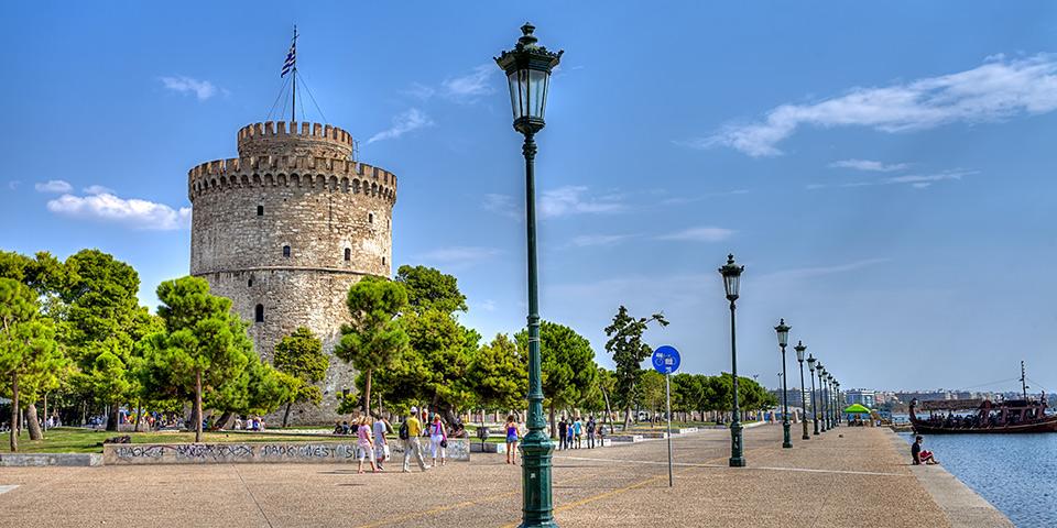 Thessalonikis vartegn, Det Hvide Tårn.