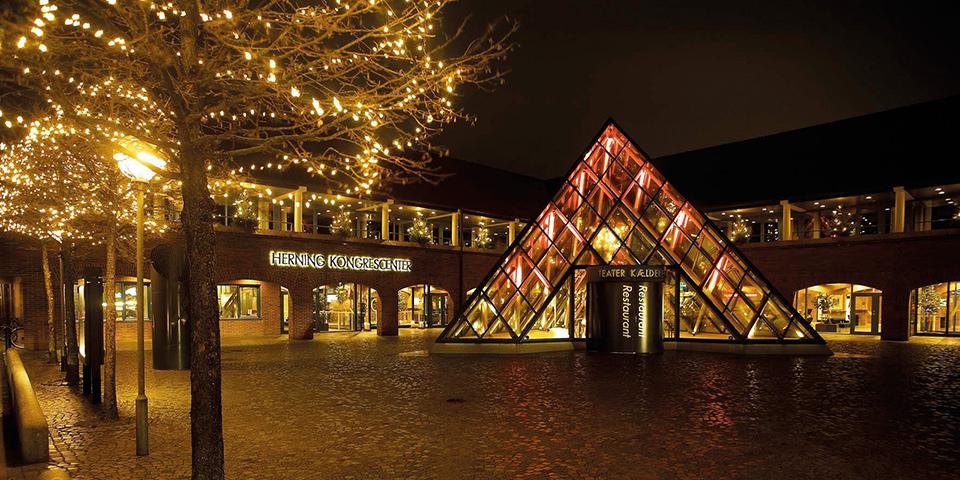 MCH Herning Kongrescenter, der skal danne ramme om julekoncerten.