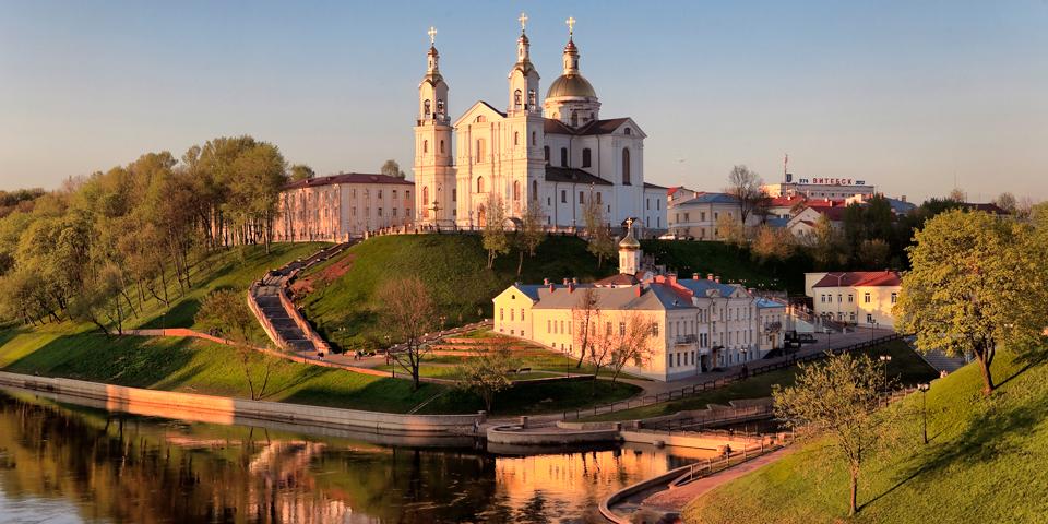 Domkirken St. Uspensky i Vitebsk.