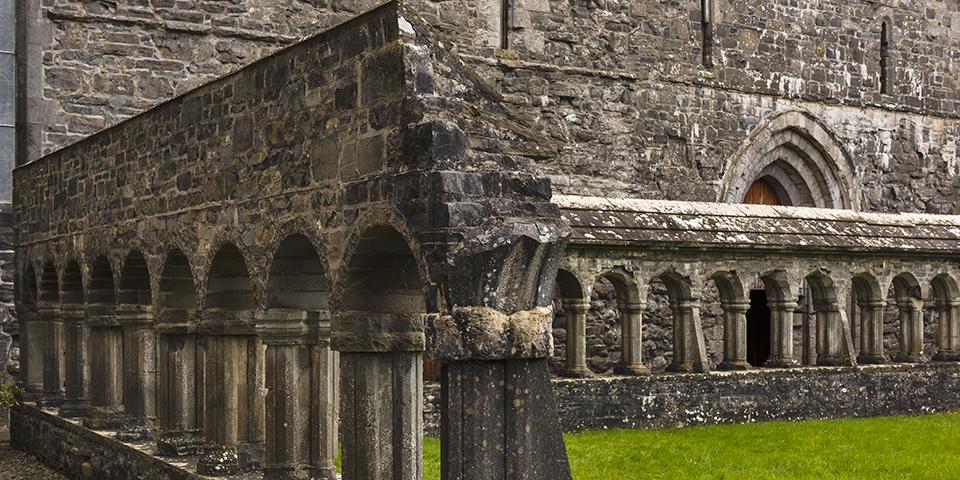 Klosteret Ballintubber Abbey.