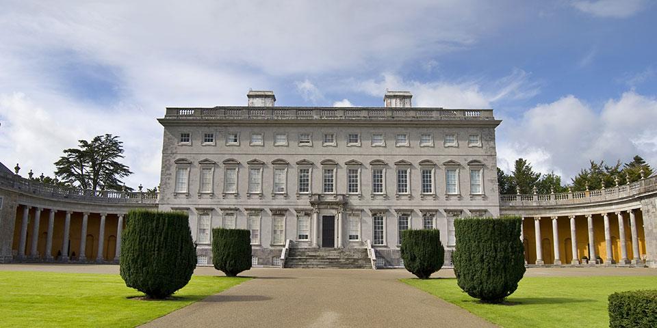 Castletown House i Kilkenny.