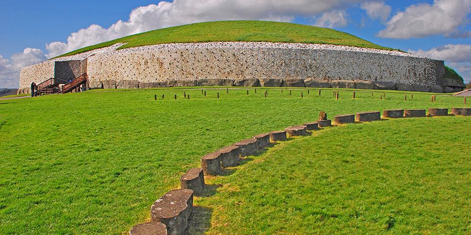 Gravkammeret Newgrange.